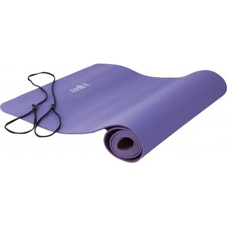 Στρώμα Yoga 4mm TPE Ροζ/Μωβ