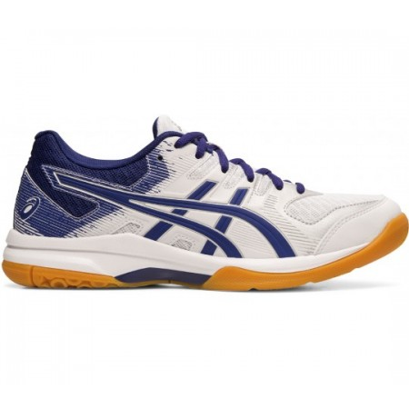 ASICS GEL ROCKET 9 WHITE/DIVE BLUE