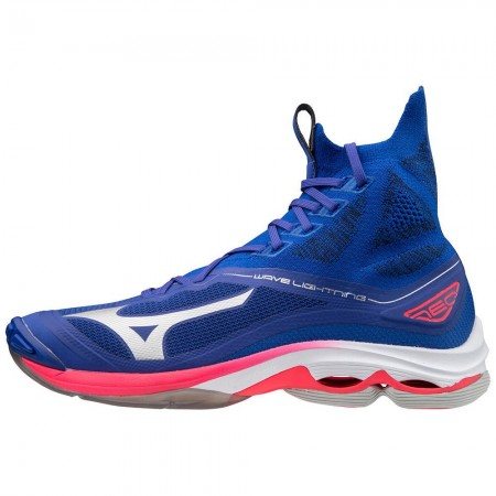 MIZUNO WAVE LIGHTNING NEO MID BLUE