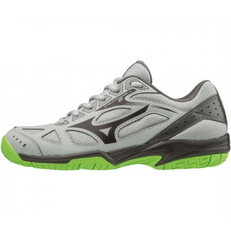 MIZUNO WAVE CYCLONE 2 JR GREY-GREEN