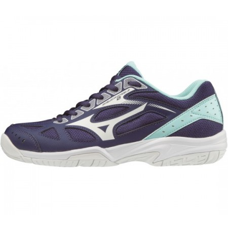 MIZUNO WAVE CYCLONE 2 JR NAVY-WHITE