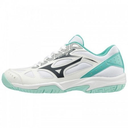 MIZUNO WAVE CYCLONE 2 WHITE-CELESTE