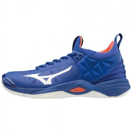 MIZUNO WAVE MOMENTUM BLUE/WHITE/RED