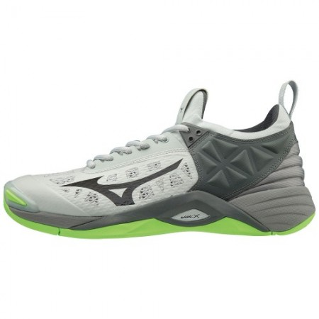 MIZUNO WAVE MOMENTUM GREY/GREEN