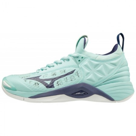 MIZUNO WAVE MOMENTUM BLUELIGHT/ASTRALAURA/WHITE