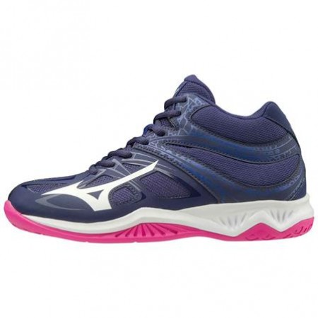MIZUNO WAVE THUNDER 2  MID NAVY/WHITE/PINK