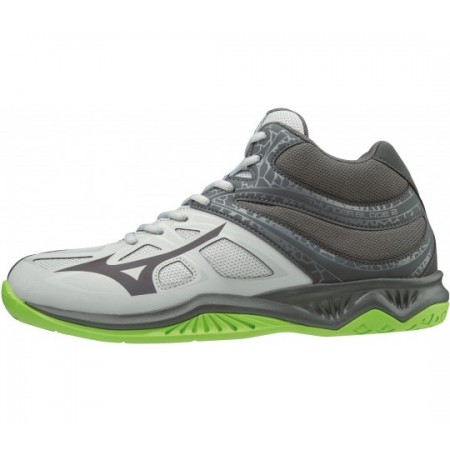 MIZUNO WAVE THUNDER 2 MID GREY/GREEN