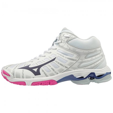 MIZUNO WAVE VOLTAGE MID WHITE