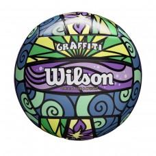 Μπάλα Μπιτς βόλεϊ Wilson GRAFFITI WTH4637XB purple