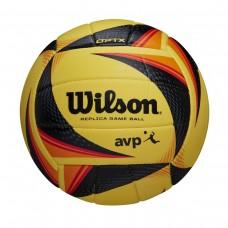 Μπάλα beach volley WILSON AVP REPLICA (μαύρο κίτρινο πορτοκαλί) (WTH01020 XB)