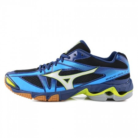 MIZUNO WAVE BOLT 6 BLACK-ROYAL