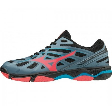 MIZUNO WAVE HURRICANE 3 ANTHRACITE